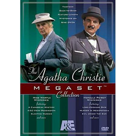 The Agatha Christie Megaset Collection (Miss Marple / Poirot) - Halloween Party Agatha Christie Movie