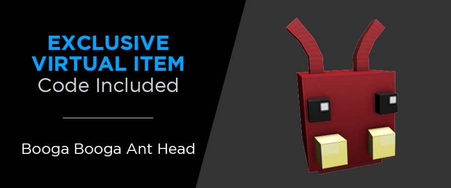Booga Booga Roblox Jelly Mining Roblox Action Collection Booga Booga Fire Ant Figure Pack Includes Exclusive Virtual Item Walmart Com Walmart Com