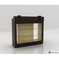 Reception Desk BERKELEY Office Counter Reception Desk, Modern Waiting Room Reception Furniture & Equipment