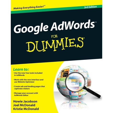 Google Adwords For Dummies  3Rd Edition