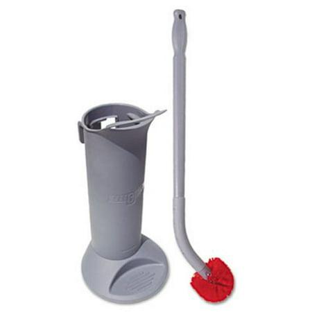 Ergo Toilet Bowl Brush System with Holder (UNG BBWHR)