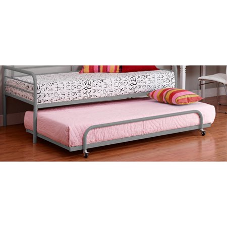Dorel home twin trundle for metal daybed multiple colors for Where to buy a new bed
