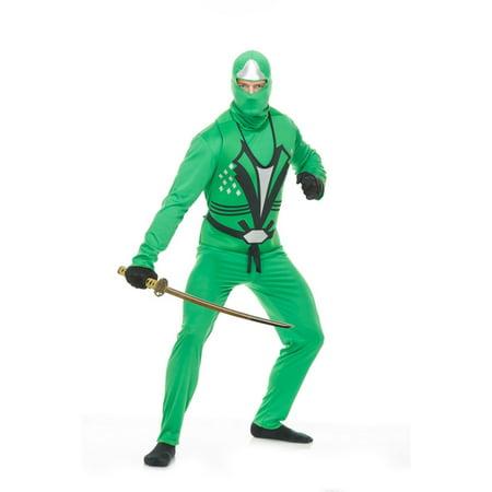 Halloween Ninja Avenger Series II Adult Costume - Jade (Jade Costume)