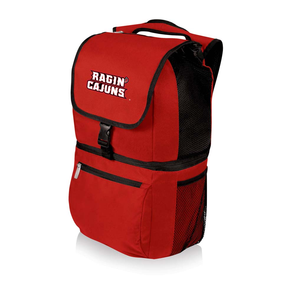 Louisiana Lafayette Zuma Cooler Backpack (Red)