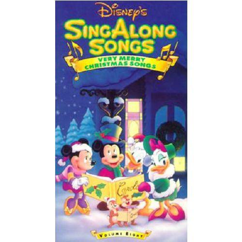 Disneys Sing Along Songs - Very Merry Christmas Songs (VHS, 1997)