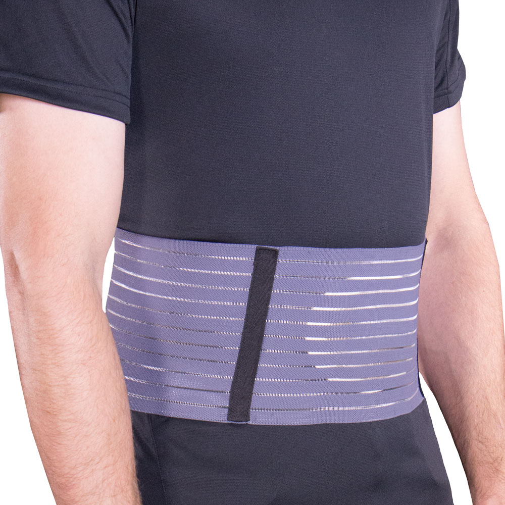 OTC Select Series Abdominal Hernia Support, Grey, Medium
