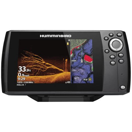 Frequency Spectrum Display (Humminbird 411070-1 HELIX 7 CHIRP Sonar G3N Dual Spectrum Combo Fishfinder/GPS/Chartplotter with MEGA Down Imaging & 7