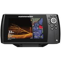 "Humminbird 411070-1 HELIX 7 CHIRP Sonar G3N Dual Spectrum Combo Fishfinder/GPS/Chartplotter with MEGA Down Imaging & 7"" Display"