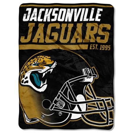 "NFL Jacksonville Jaguars ""40-Yard Dash"" 46""x 60"" Micro Raschel (Nfl Jacksonville Jaguars Window)"