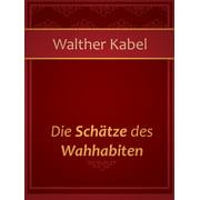 Die Schätze des Wahhabiten - eBook