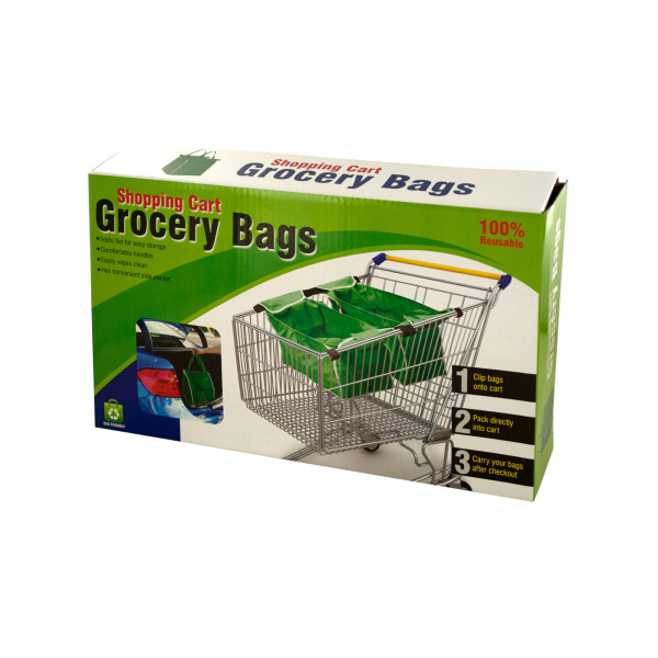 Reusable Shopping Cart Grocery Bags