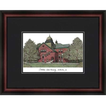 Oklahoma State University Academic Framed Lithograph