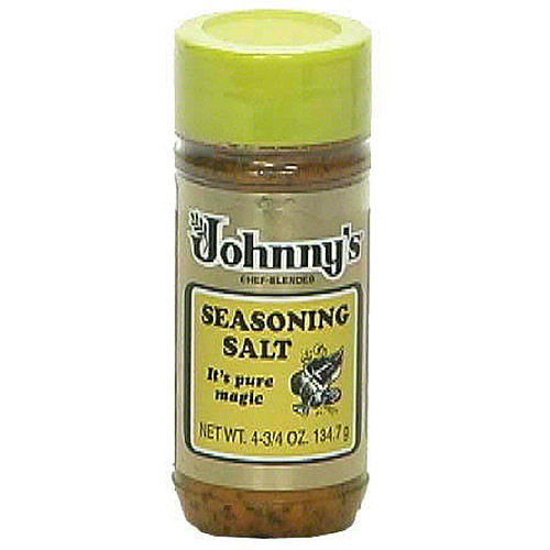 Johnny's Seasoning Salt, 4.75 oz (Pack of 6)