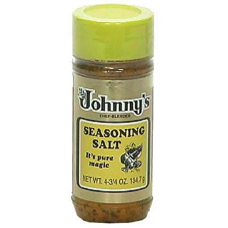 Johnnys Seasoning Salt  4 75 Oz  Pack Of 6