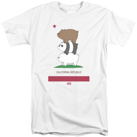 We Bare Bears - Cali Stack - Tall Fit Short Sleeve Shirt - XX-Large