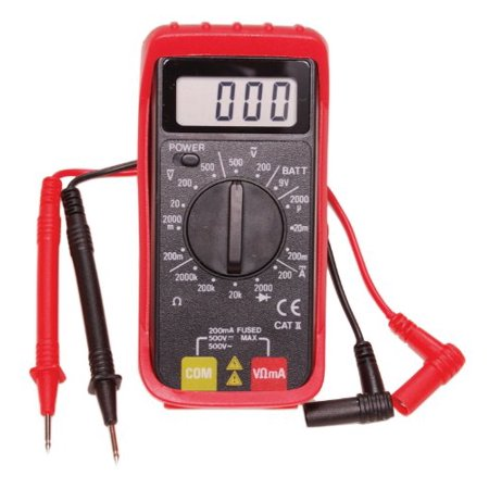Electronic Specialties 501 Digital Mini Multimeter With Holster