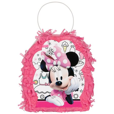 Minnie Mouse Helpers Favor Container Mini Pinata - Minnie Mouse Pinatas