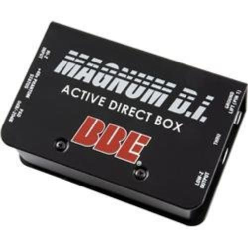 Bbe MAGNUMDI Active Direct Box Perp Unbalance 1/4in In Thru Xlr Out