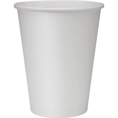 Genuine Joe Hot Cups Single 12oz. 250/BD White 19047BD