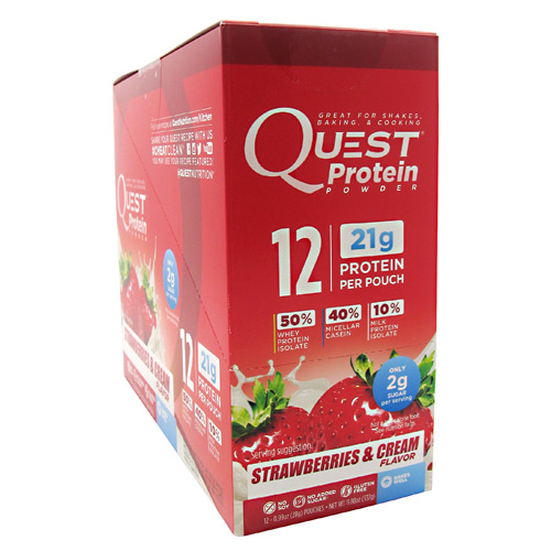 Quest Nutrition Quest  Protein Powder, 12 ea