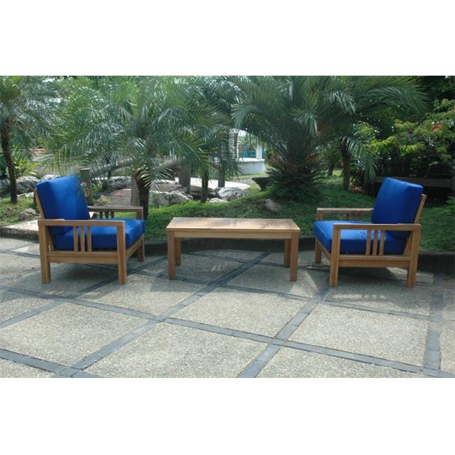 Anderson Teak SET-257 South Bay Deep Seating Collection Set by Anderson Teak