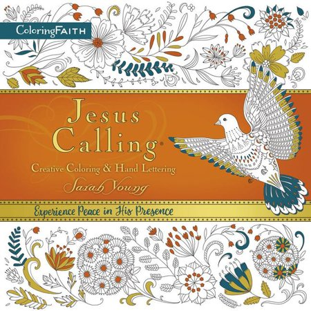Jesus Calling Adult Coloring Book: Creative Coloring and Hand Lettering - Halloween Coloring Pages Adults