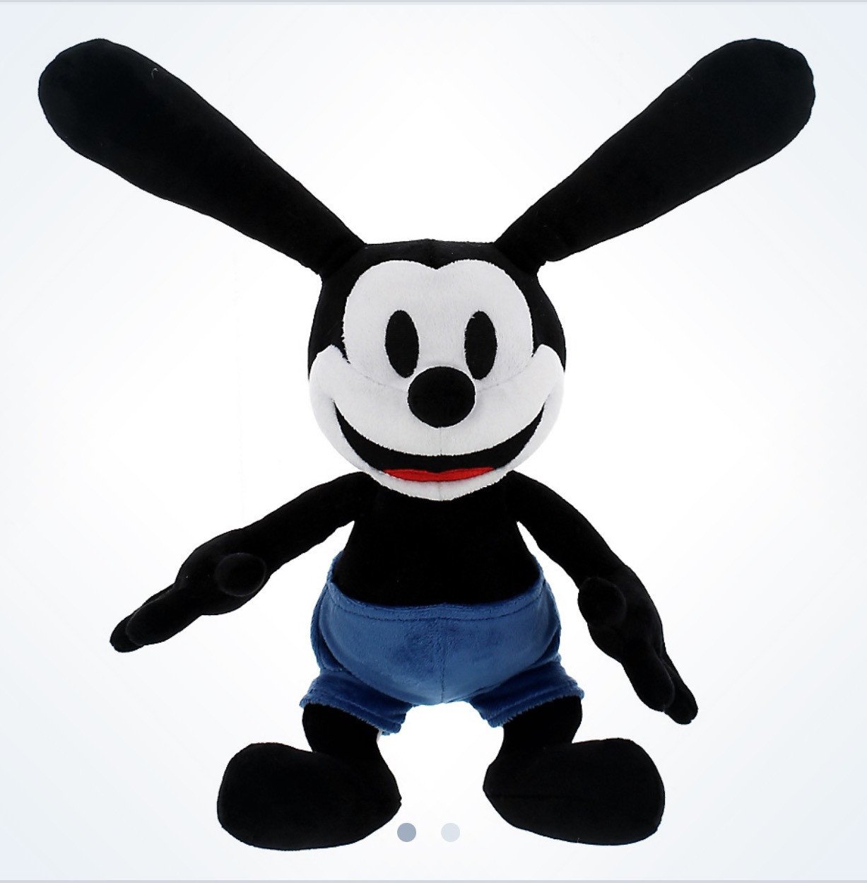 "Disney Parks 9"" Oswald the Lucky Rabbit Plush Doll New Tag"