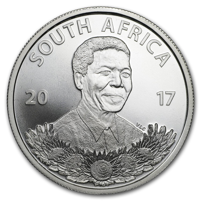 2017 South Africa Silver Protea Mandela: Life of a Legend BU