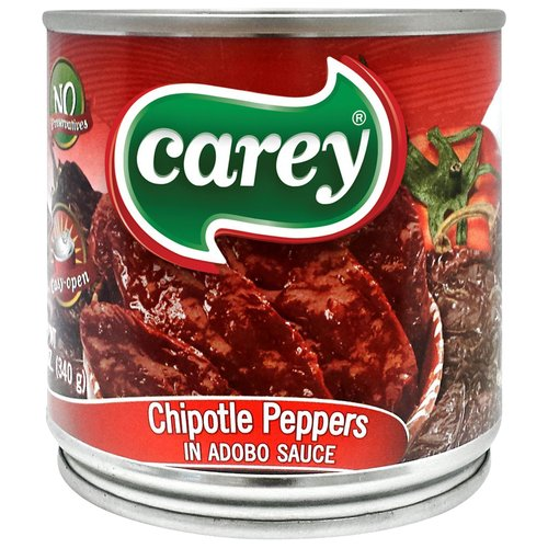 Carey Chipotle Peppers in Adobo Sauce, 12 oz