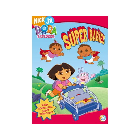 Super Explorer - Dora The Explorer: Super Babies (DVD)