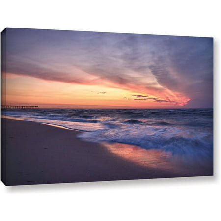 Artwall Dan Wilson  Outer Banks Sunset I  Gallery Wrapped Canvas