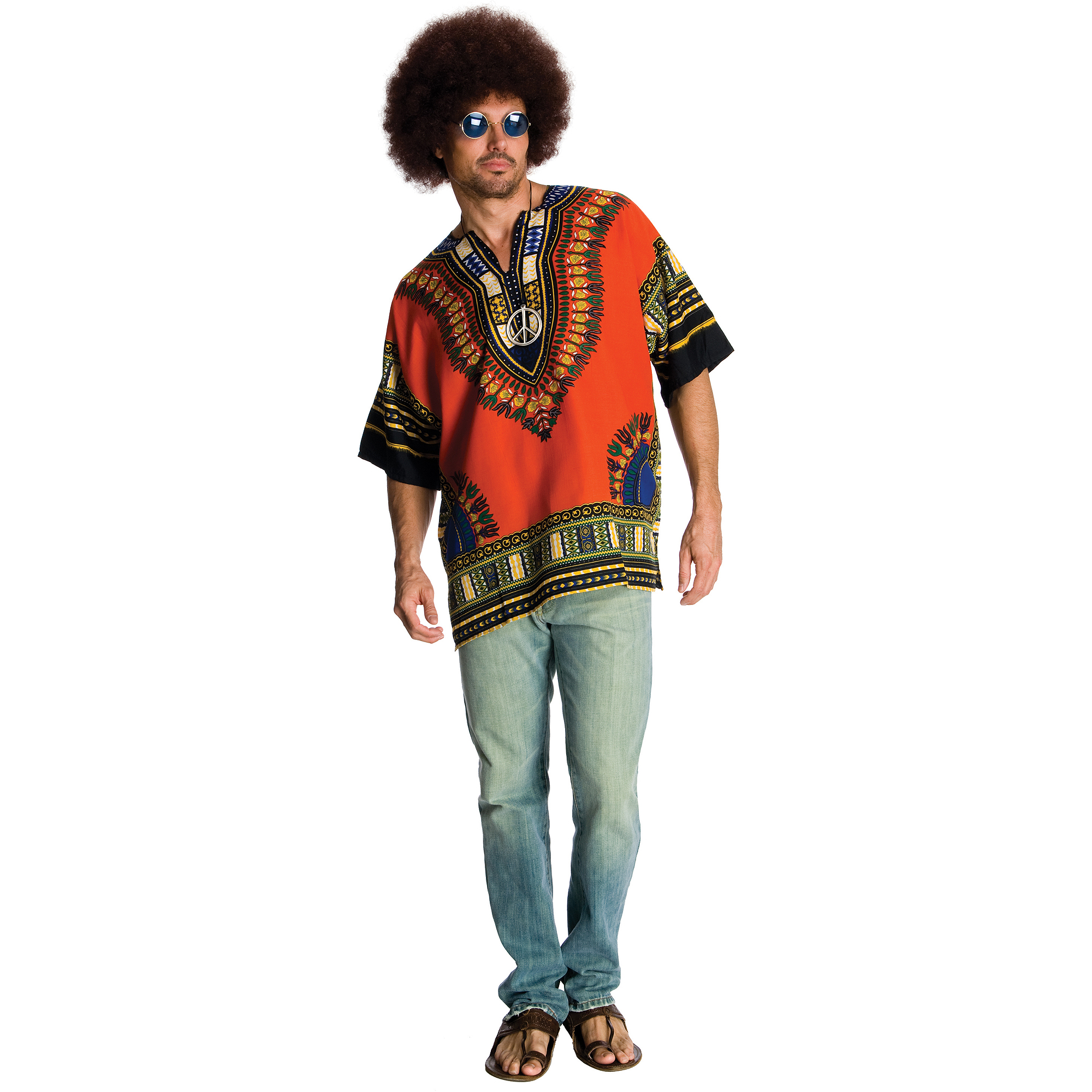 Hippie Mens Halloween Costume - Walmart.com