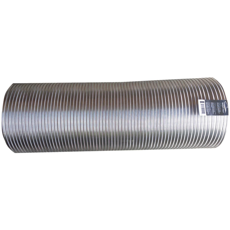 """Builders Best 110412 Semi-rigid Aluminum Duct, 8' (10"""" Dia)"""