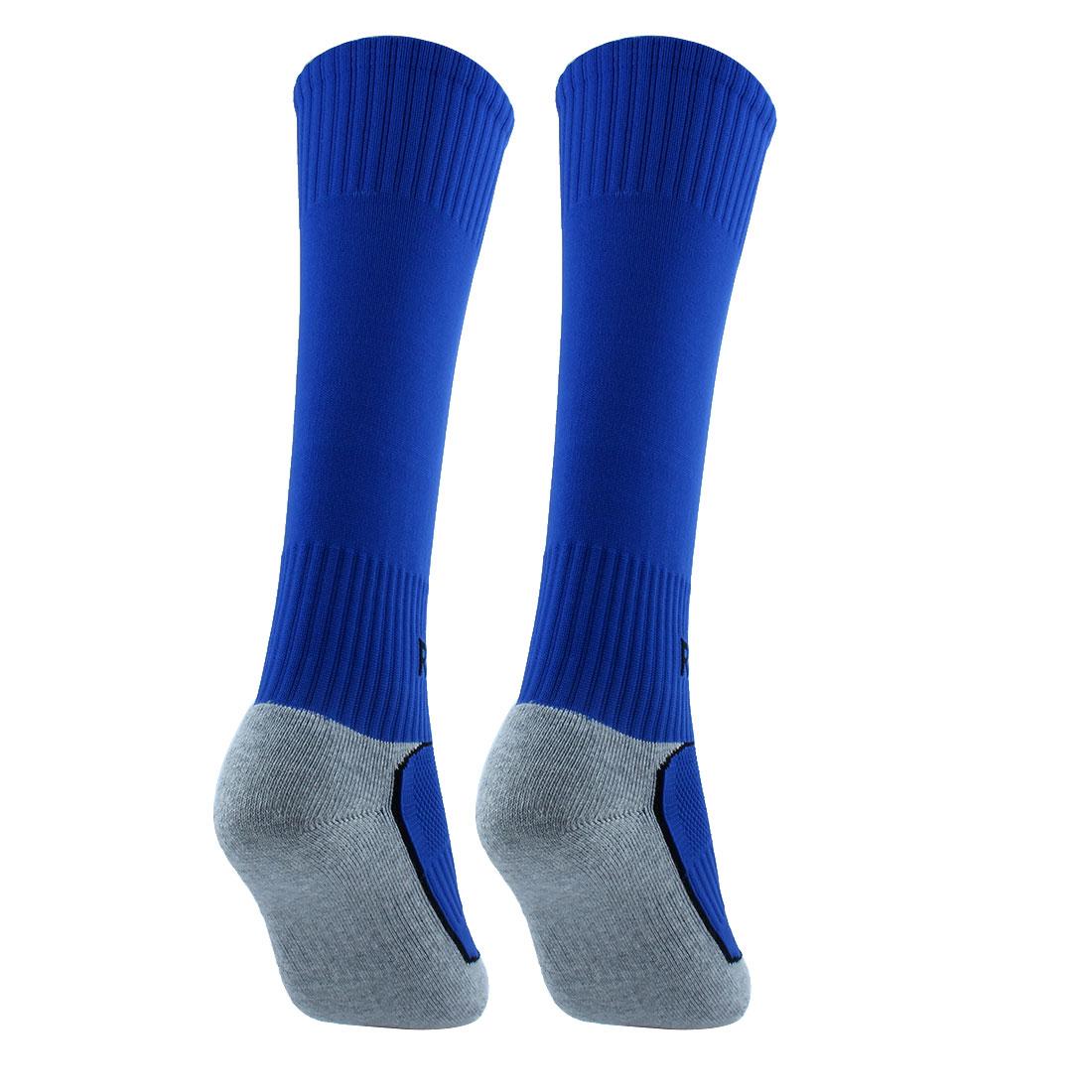 R-BAO Gar on autorisé Coton Sport Soccer Foot Pair Chaussettes Longues - image 3 de 5