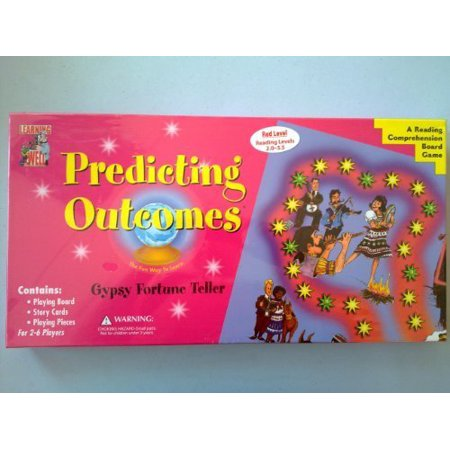 Predicting Outcomes - Gypsy Fortune Teller - A Reading Comprehension Game - Red Reading Levels 2.0-3.5 by Learning Well - image 1 of 1
