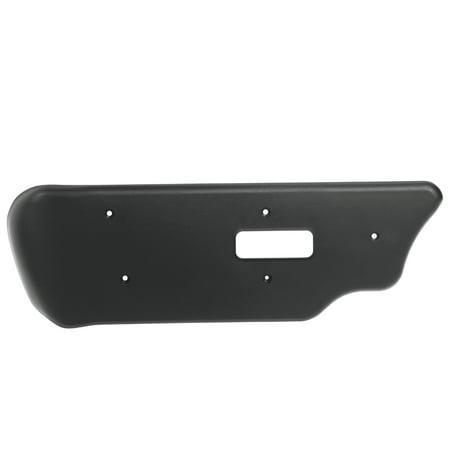 Black Bezel Left Driver (OxGord Seat Switch Trim Bezel Panel - GM OEM Part 88941672 - Fits Left Side - Black)