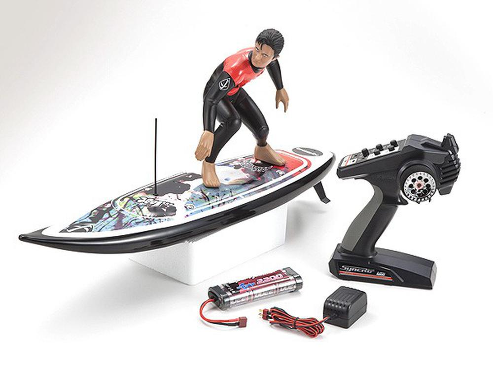 Hobby Remote Control Kyosho Kyo40108B Rc Surfer 3 Readyset-Lost Edit Rc Boats by Kyosho