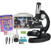 Best Microscopes Kids Microscopes - AmScope-Kids 120X-240X-300X-480X-600X-1200X Starter Kit Metal Arm Children Biological Review
