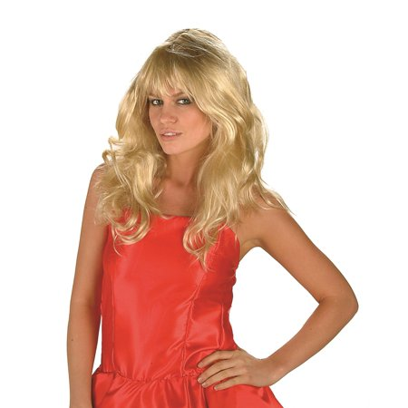 Flare Blonde Wig - Party City Blonde Wig