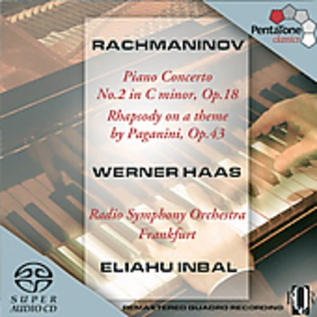 S. Rachmaninoff - Rachmaninov: Piano Concerto No. 2; Rhapsody on a Theme by Paganini [SACD]