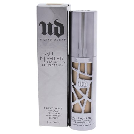 All Nighter Liquid Foundation - 3.25 Light by Urban Decay for Women - 1 oz