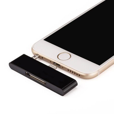 New 30 Pin To 8 Pin Dock Lightning Audio Adapter Connector Adapor for iPhone 6 6S Converter (Bose Iphone Dock Adapter For Iphone 5)