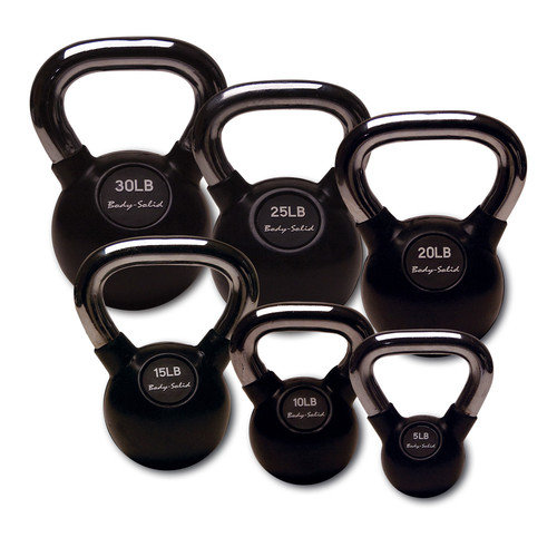 Body Solid Kettlebell (Set of 6)