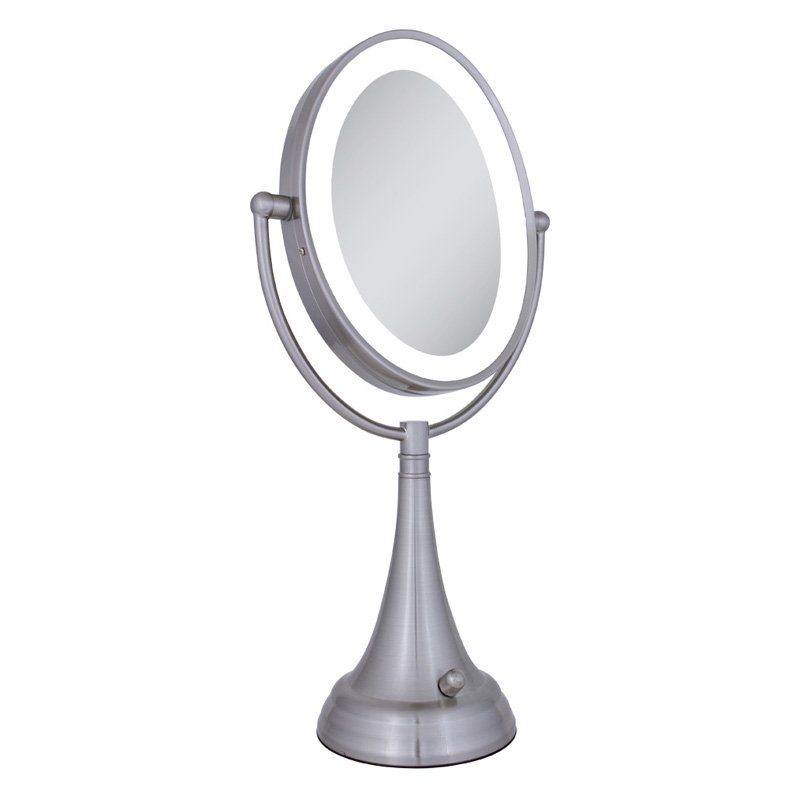 Zadro Endless Rotation LED Lighted Wall-Mount Mirror [Kitchen]