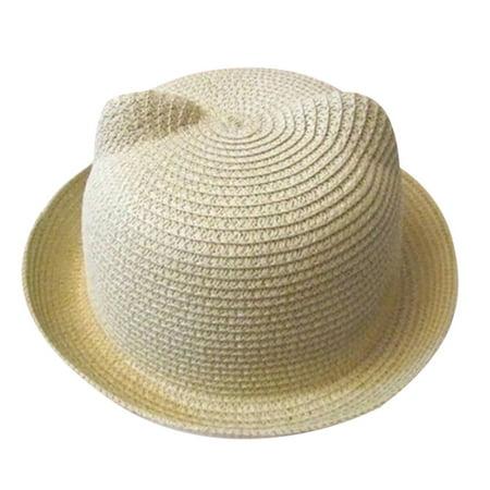 Summer Baby Hat Cap Children Breathable Hat Straw Hat Kids Hat Boy Girls Hats - Kids Straw Hat