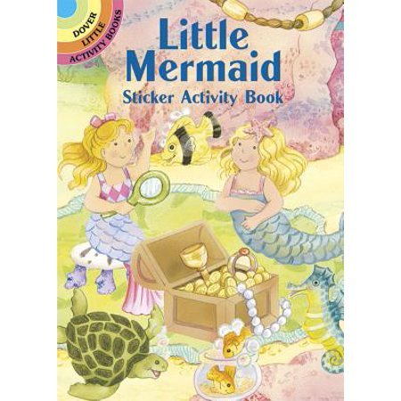 Little Mermaid Sticker Activity Book](The Little Mermaid Halloween Coloring Pages)