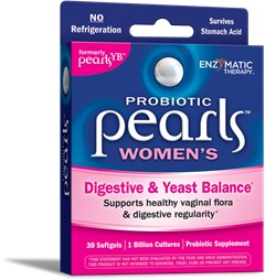 Probiotic Pearls Women's (Formerly Pearls YB) Enzymatic Therapy Inc. 30 Caps