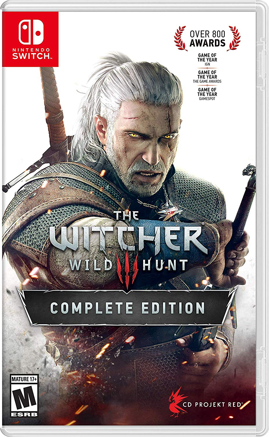 WB The Witcher 3: Wild Hunt Complete Edition - Nintendo Switch