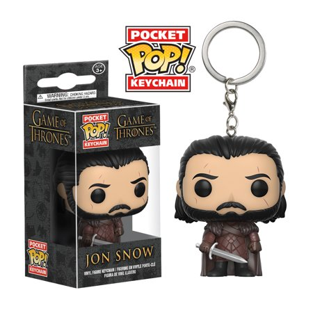 Funko Pop Keychain: Game of Thrones - Jon Snow (King of the (The King In The North Game Of Thrones)