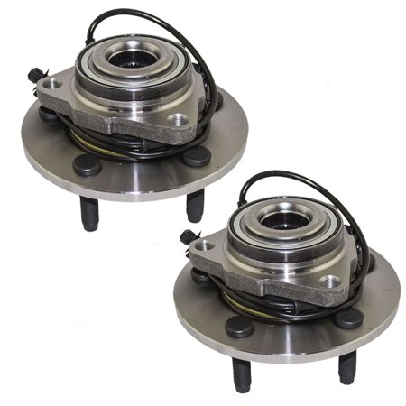 (Pair of Front Wheel Hub Bearings Replacement for Dodge Ram 1500 Pickup Truck 52070323AB)